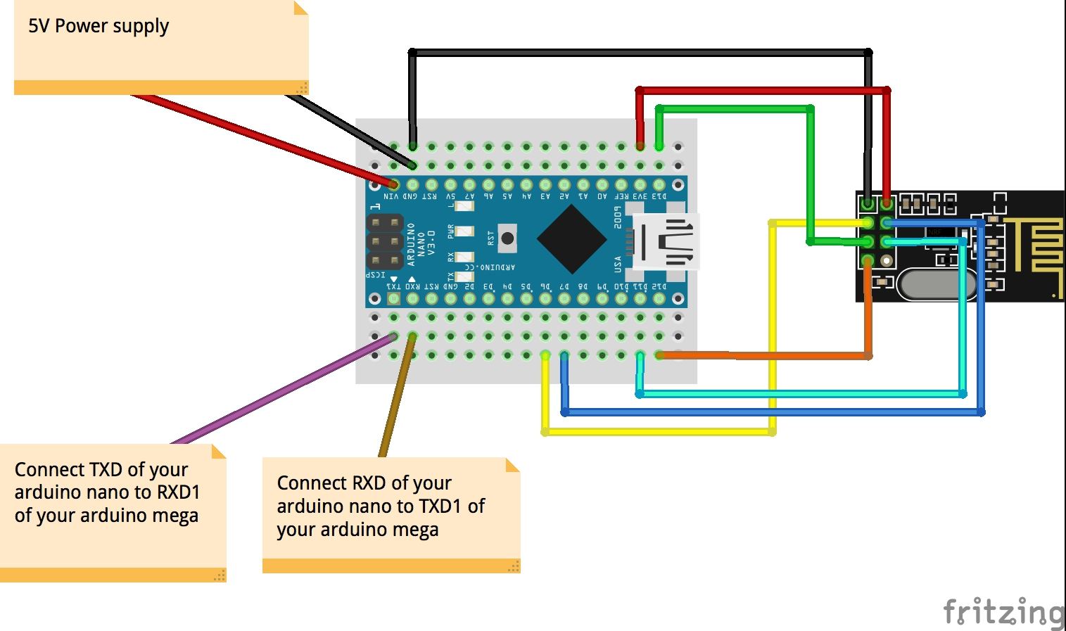 4wd Bluetooth Controlled Car With Arduino Extended Range Up To Wiring Nano Click Image For Larger Version Name Receiver Sketch Nrf Steckplatine Views 2 Size